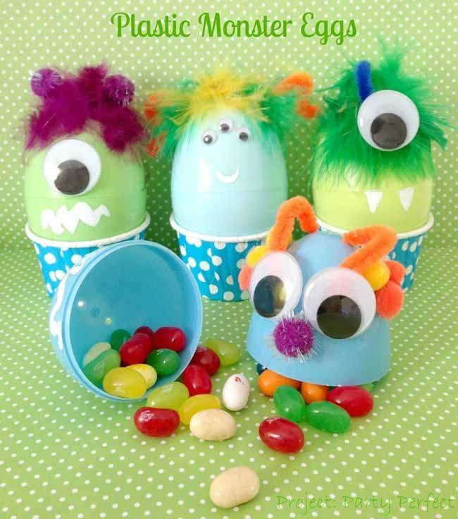 DIY Monster Eggs
