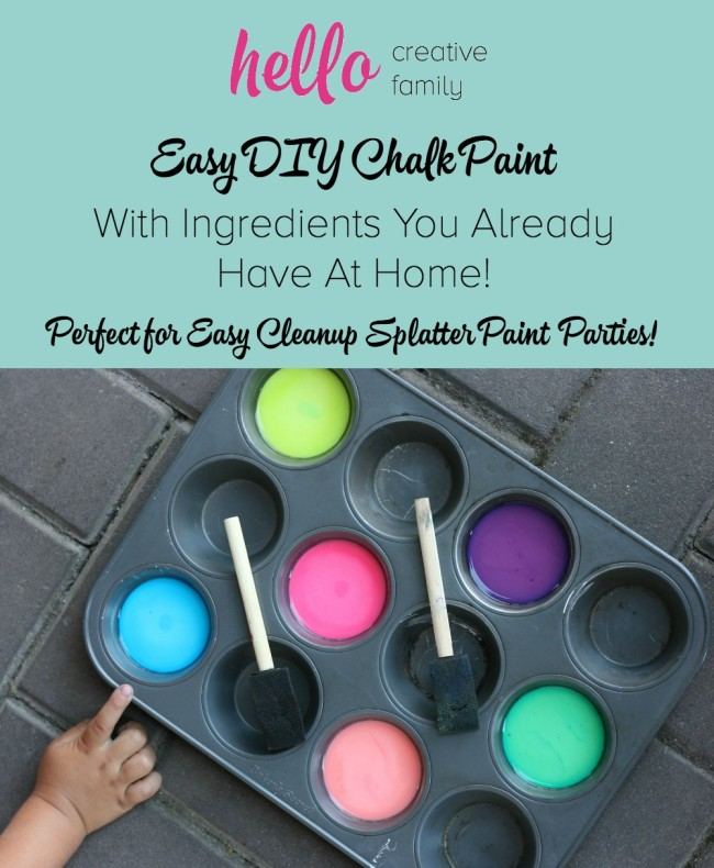 Outdoor Chalk Paint Recipe Designs