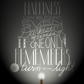 Free Harry Potter Printable from Hello Creative Family. Happiness Can Be Found Even In The Darkest of Times If One Only Remembers To Turn On The Light