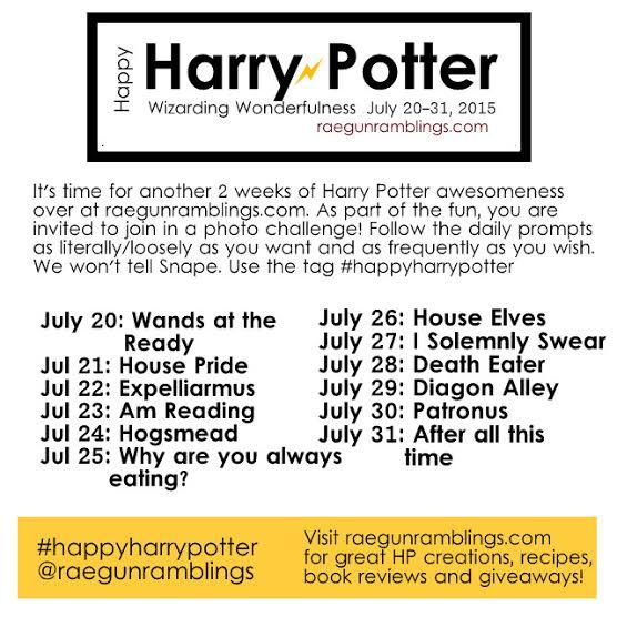 Happy Harry Potter Photo Challenge