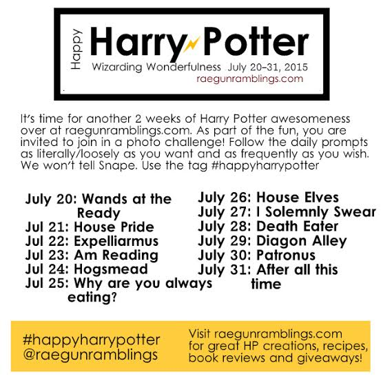 Happy Harry Potter Photo Challenge