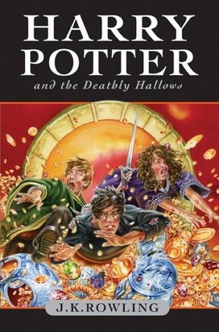 Harry Potter and the Deathly Hallows Canadian Cover