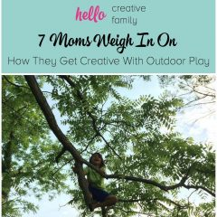 7 Moms Weigh In On How They Get Creative With Outdoor Play