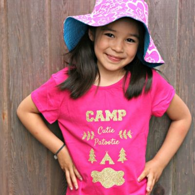 Camp Cutie Patootie T-Shirt Tutorial
