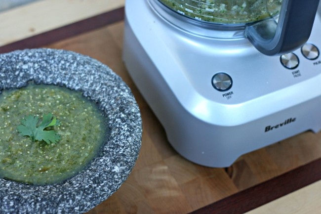 Back To Basics- Quick and Easy Salsa Verde Recipe from Hello Creative Family