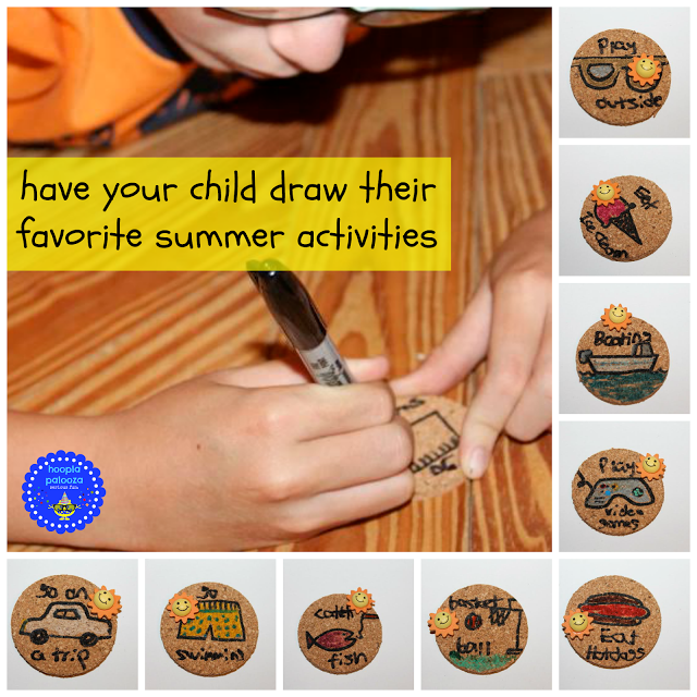 Kid's Summer Bucket List Cork Project