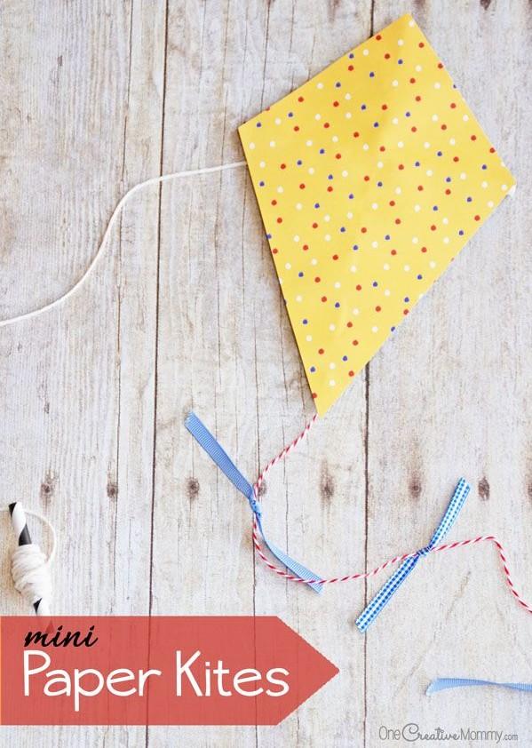 Mini Paper Kites