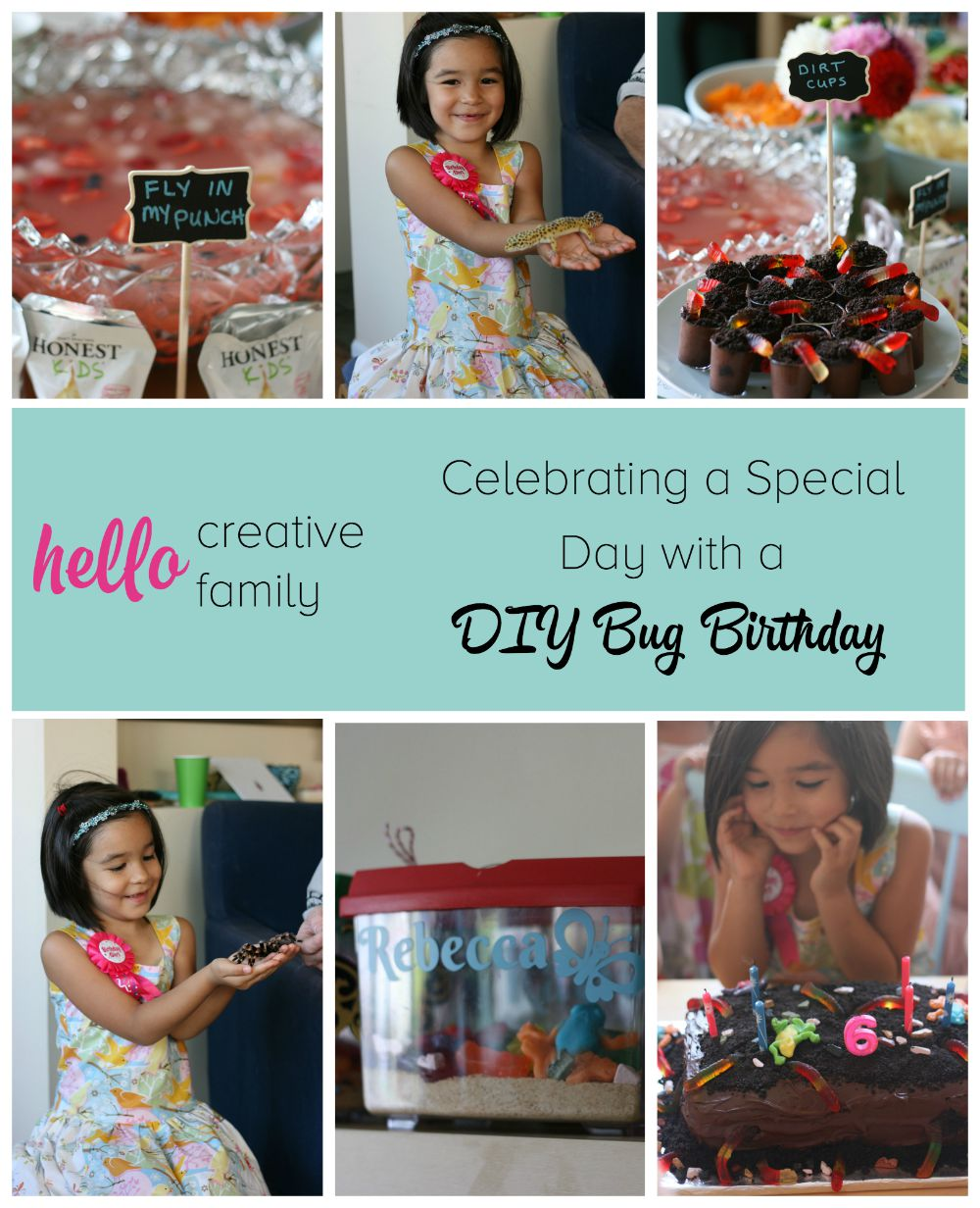 Celebrate your bug crazy kid's special day with these easy DIY Bug Birthday ideas