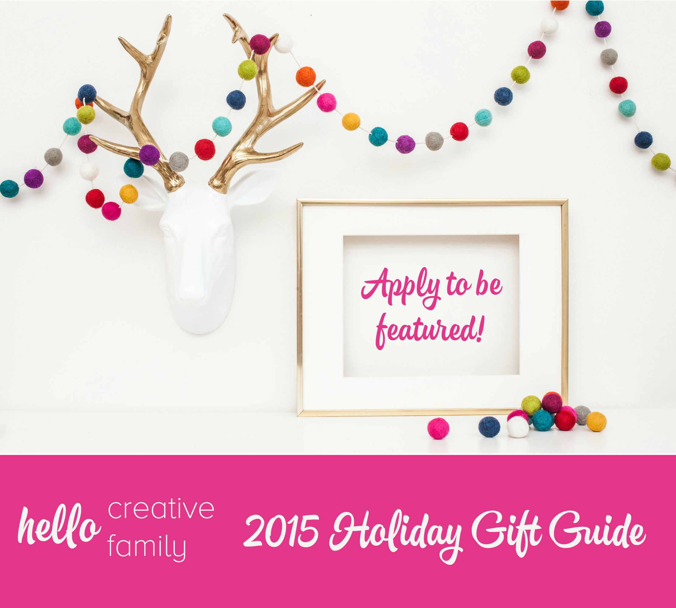 2015 Holiday Gift Guide - Hello Creative Family