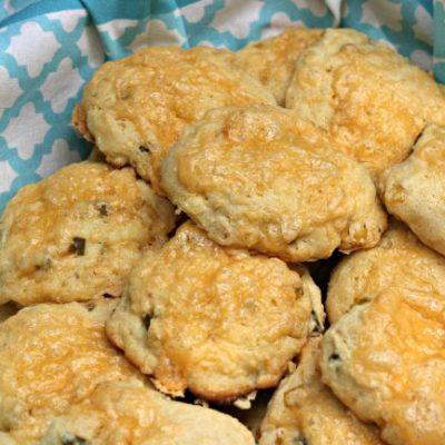 Savoury Jalapeño Cheddar Cornbread Scones Recipe