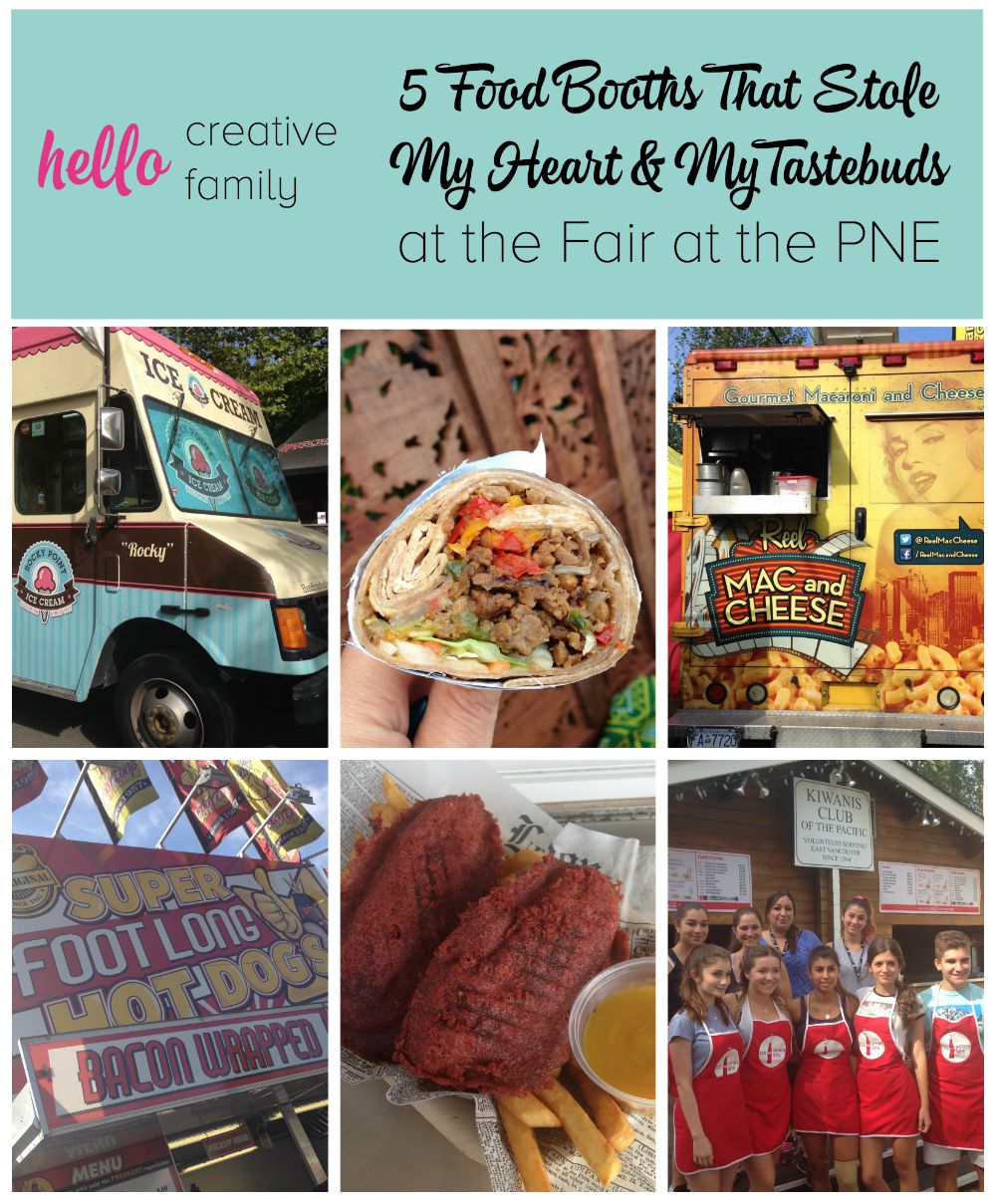 5 food booths that stole my heart and my tastebuds at the PNE