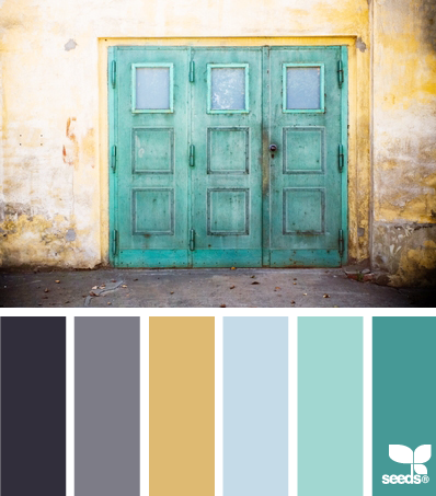 A Colour Palette we just love! HelloCreativeFamily.com