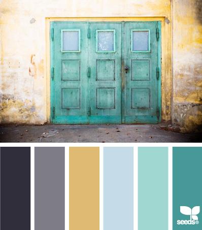 A Colour Palette we just love! HelloCreativeFamily.com