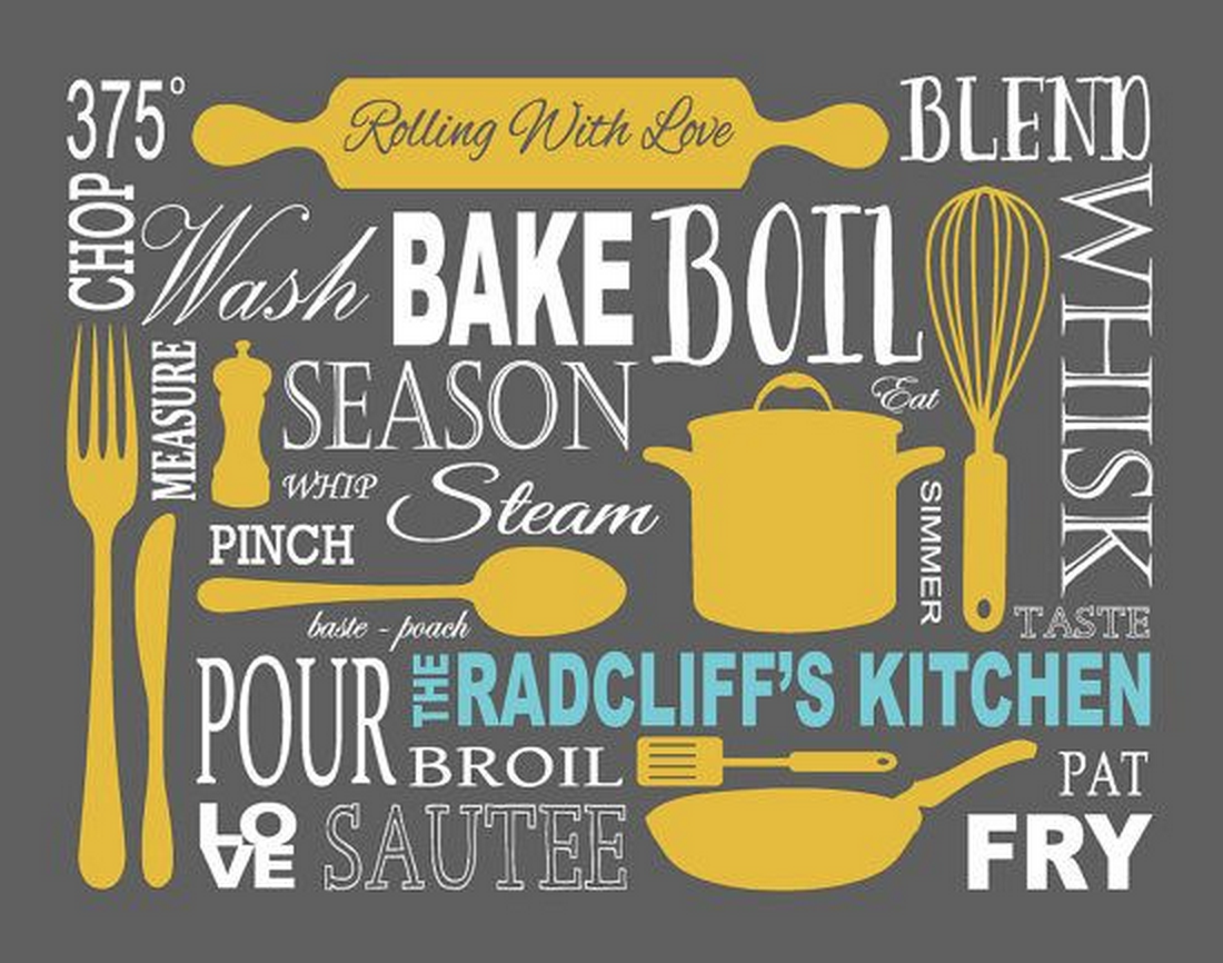 Kitchen Art Personalized Prints by  7 Wonders Design on Etsy - Featured on HelloCreativeFamily.com