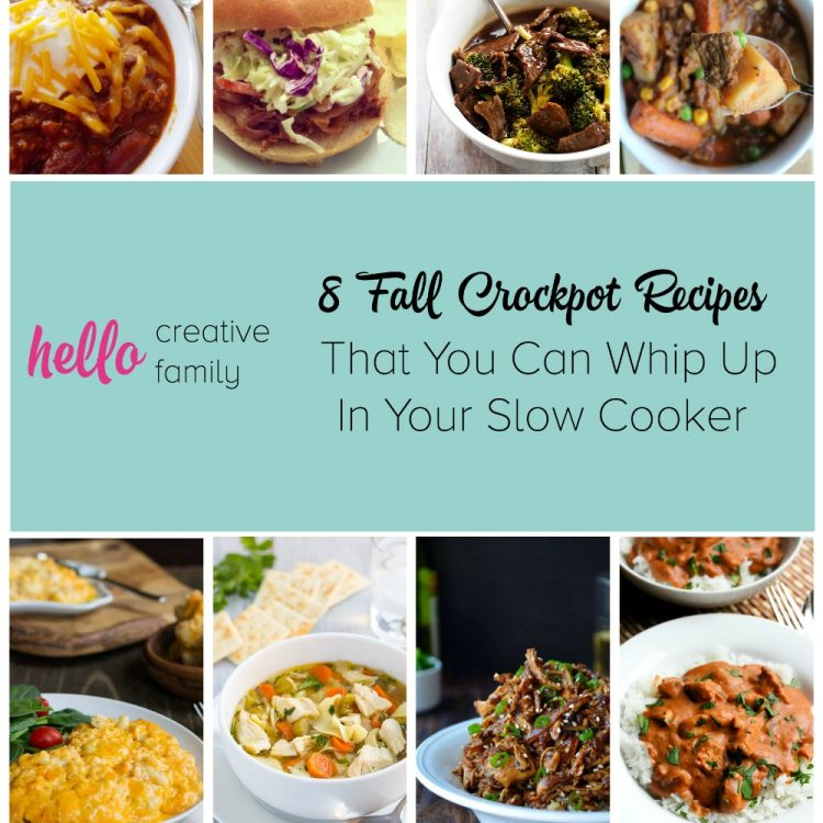 8 Fall Crockpot Recipes That You Can Whip Up In Your Slow Cooker
