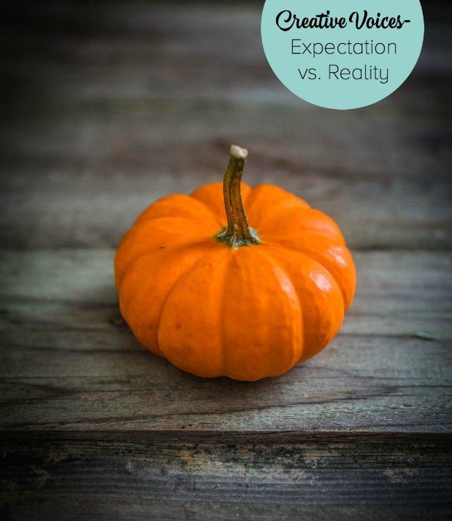 Creative Voices: Expectation vs Reality