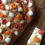 Back To Basics- Homemade Focaccia Bread Recipe (Modify with Cherry Tomatoes + Bocconcini)