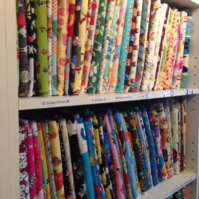 How to Organize Fabric Quickly, Easily and for Pennies