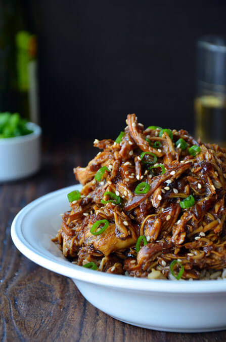 Slow-Cooker-Honey-Garlic-Chicken