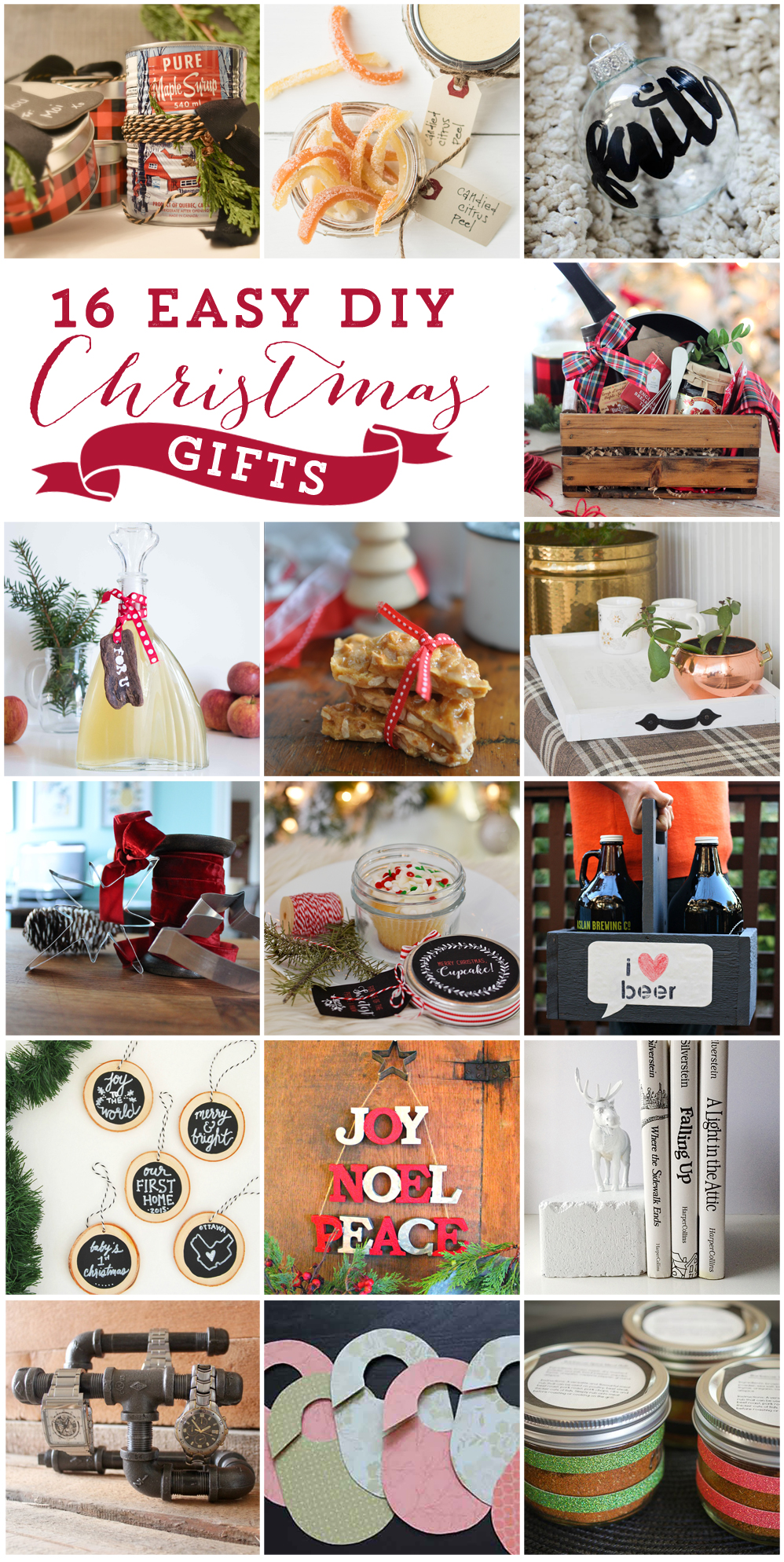 16 diy christmas gift ideas from some of canadas best diy and craft bloggers