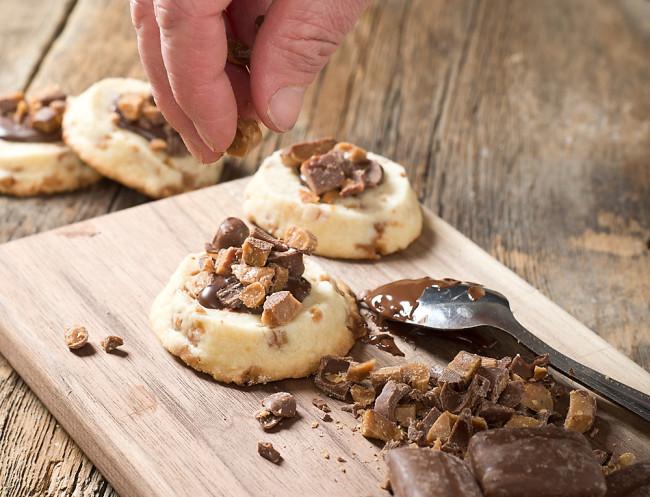 Back To Basics: Easy Icebox Shortbread Cookies Recipe