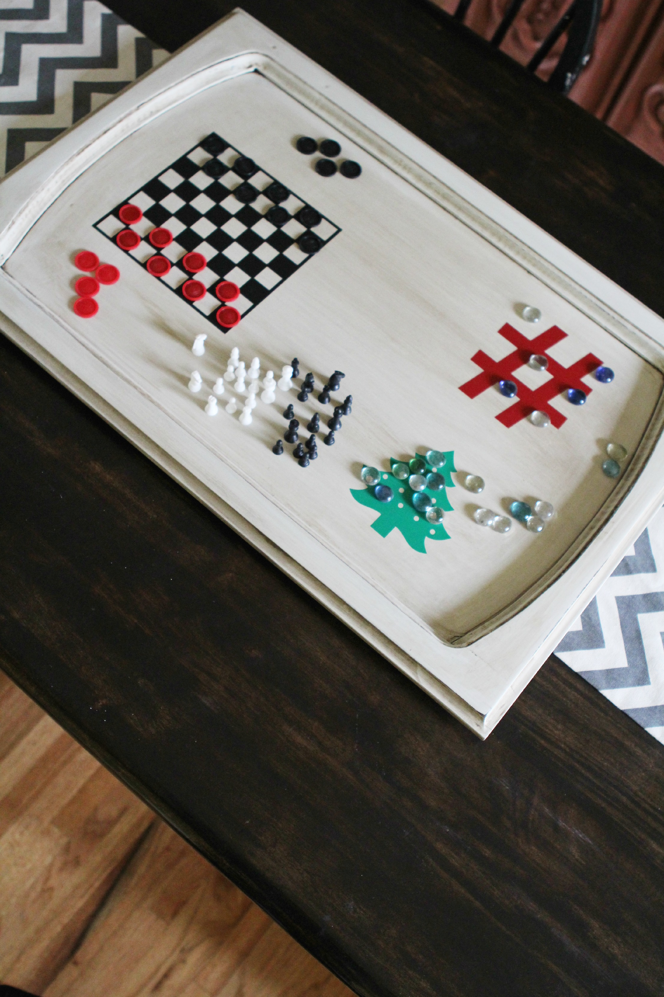 Diy gift idea make your own board game from an upcycled for 11 x table games