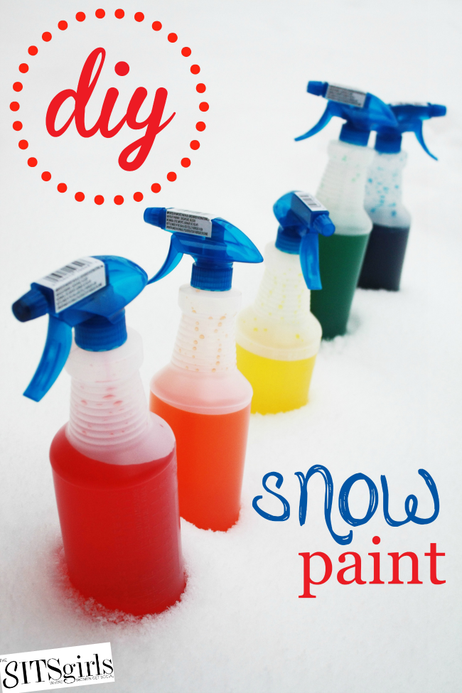 diy snow paint