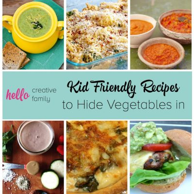 Kid Friendly Recipes To Hide Vegetables In