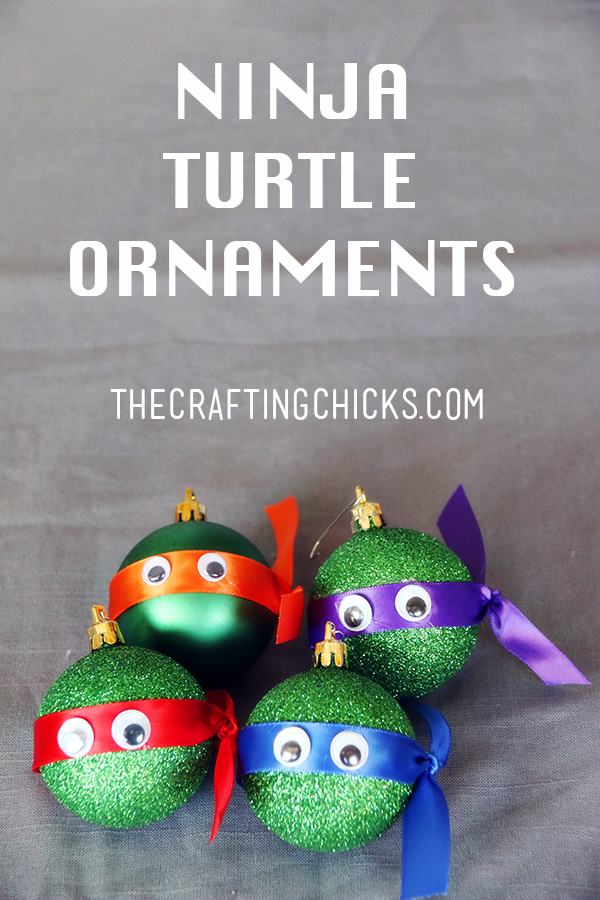 TMNJ Teenage Mutant Ninja Turtle Christmas Ornaments
