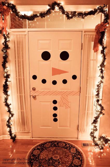 Snowman Door
