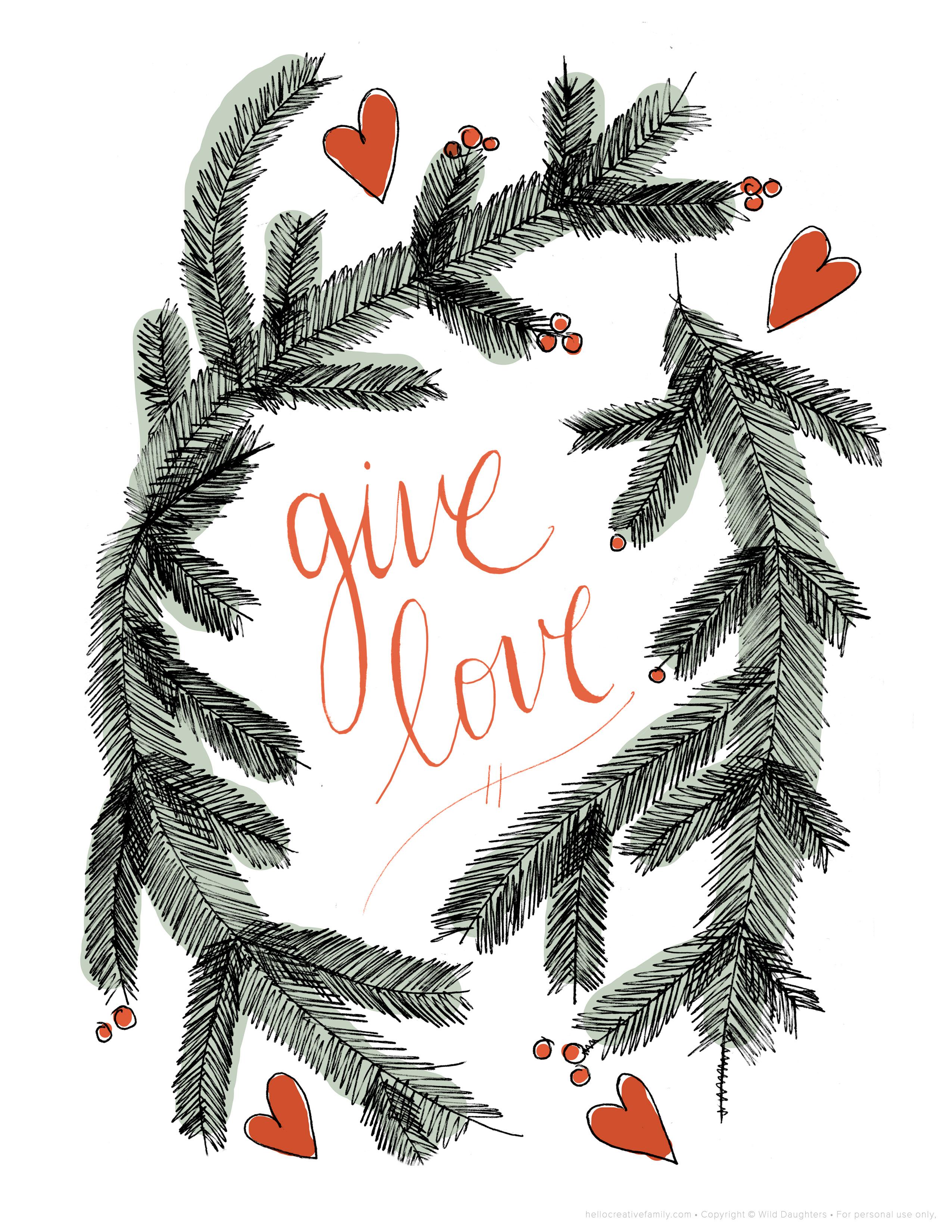download your free holiday printable - Free Holiday Printable