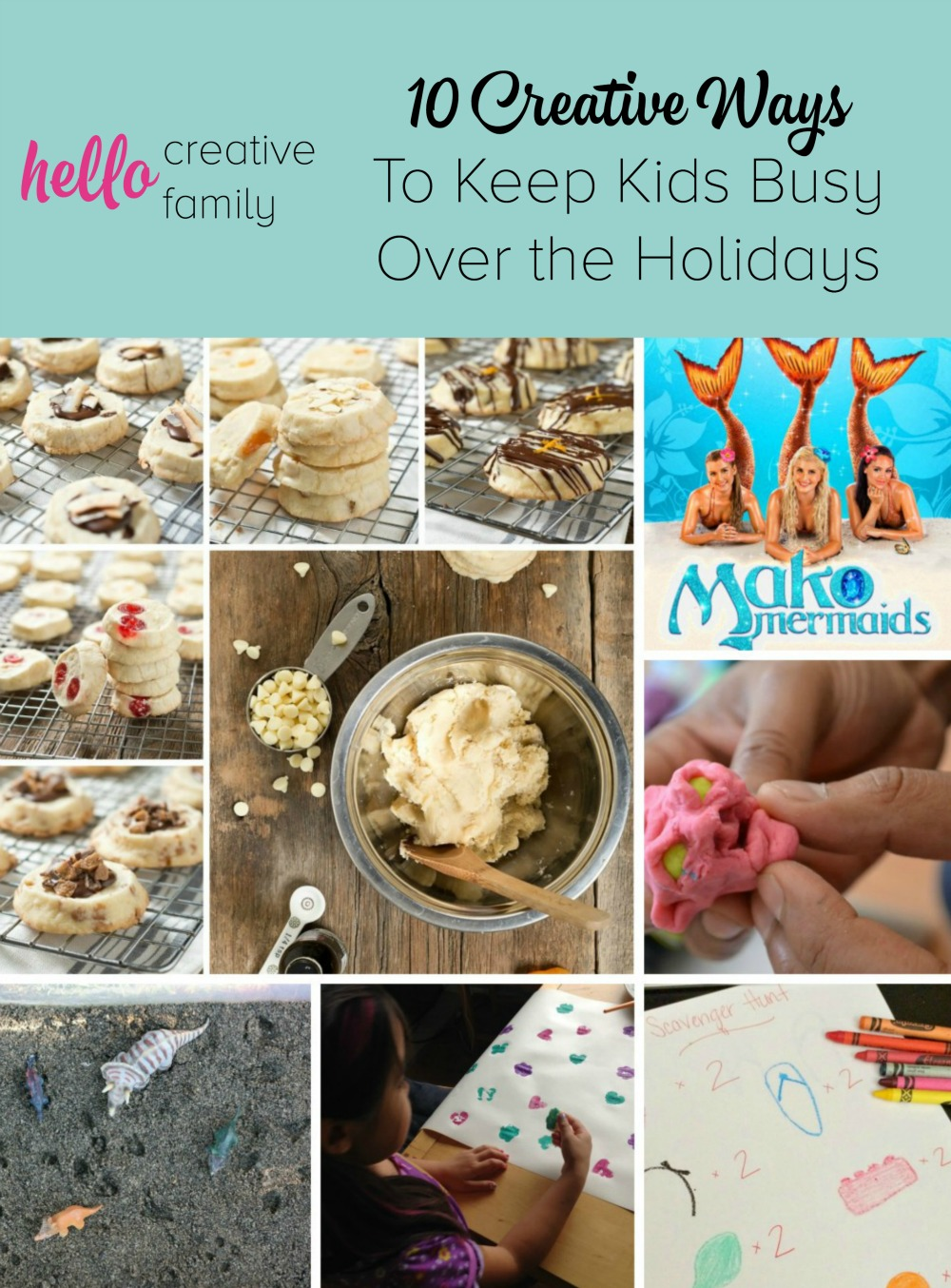 10 Creative Ways to Keep Kids Busy Over the Holidays