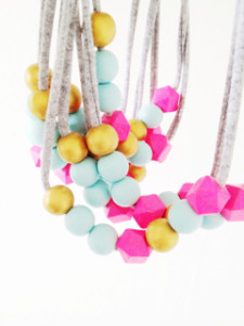 Coral + Cloud Necklace featured in the HelloCreativeFamily.com Gift Guide