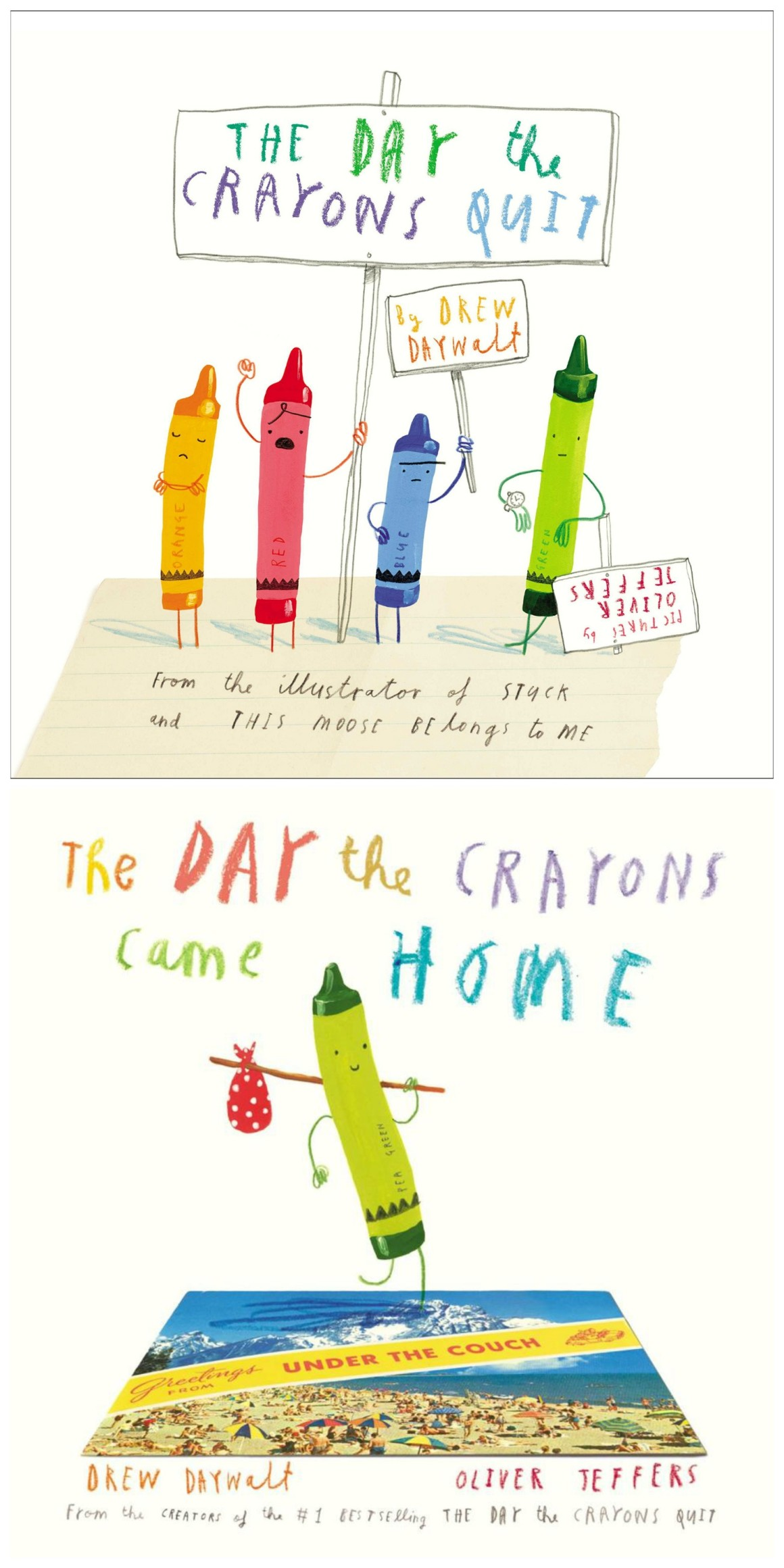 The Day the Crayons Quit featured on HelloCreativeFamily.com