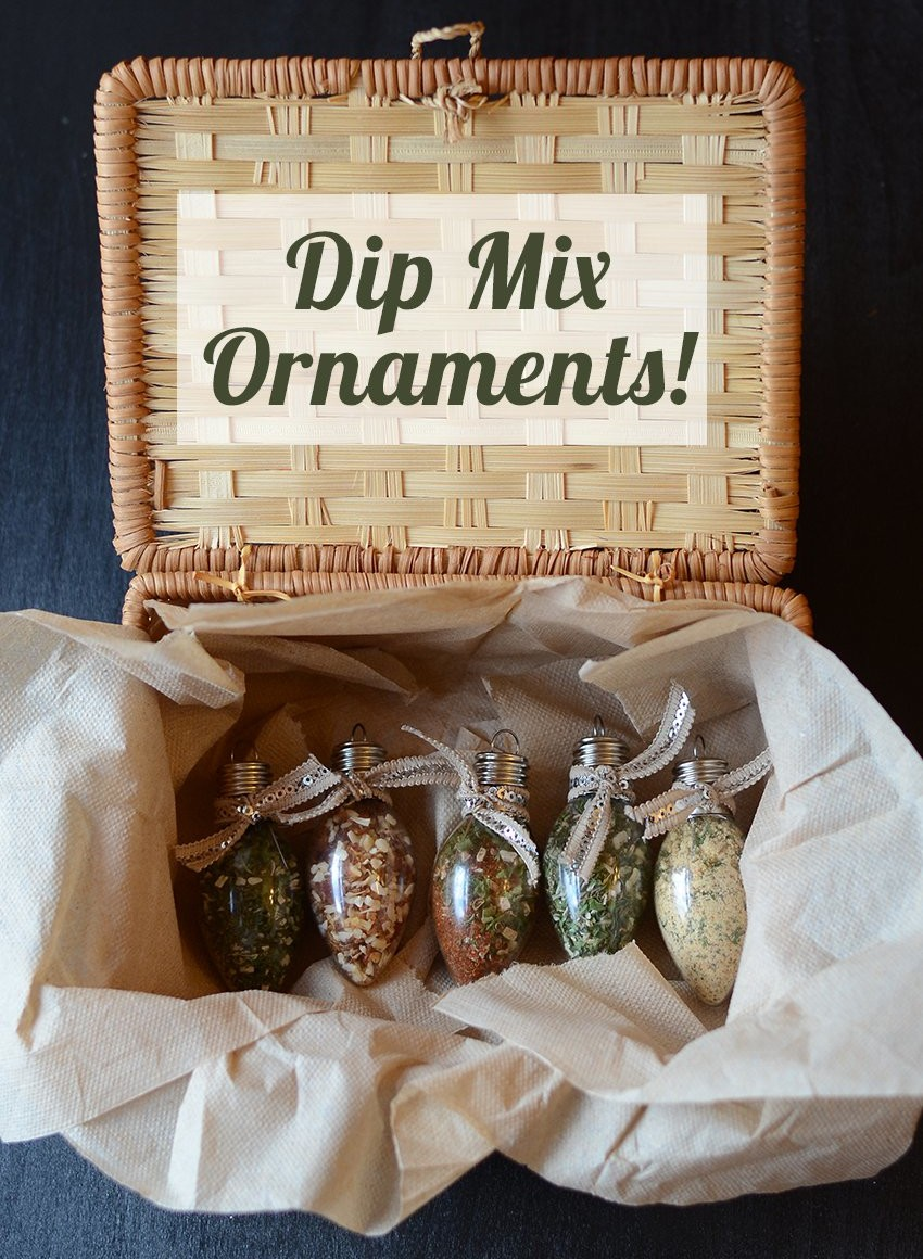 Dip-Mix-Ornaments