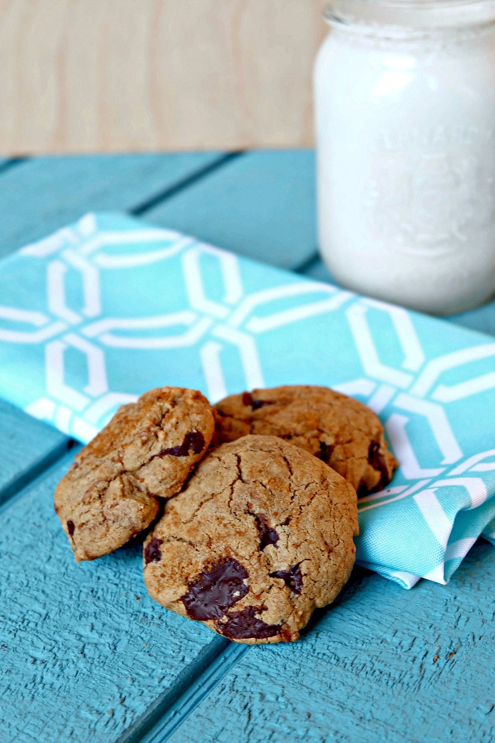 Gluten Free Ginger Chocolate Cookies