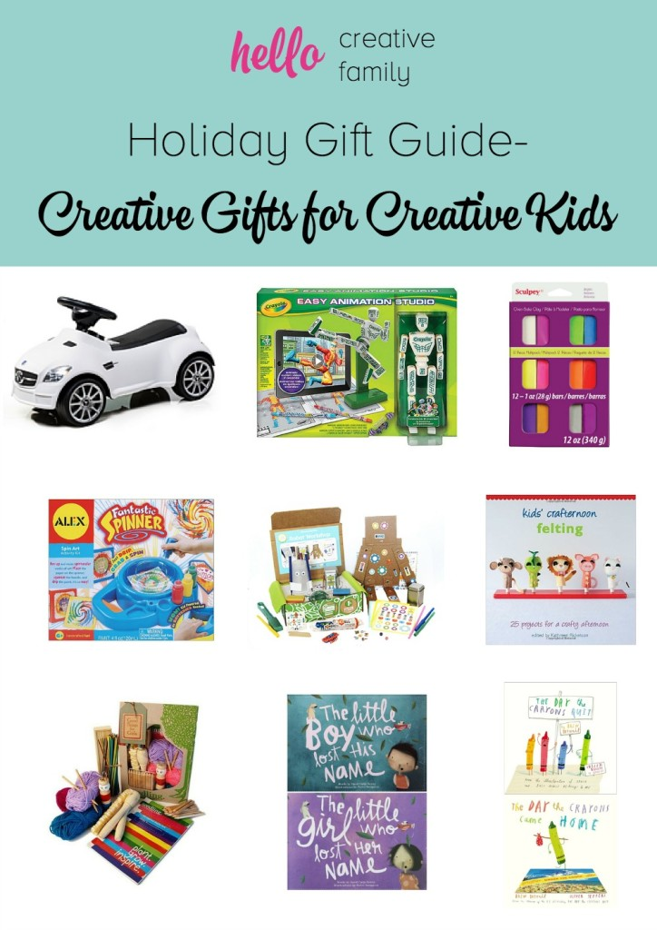 Holiday gift guide holiday gift ideas for creative kids for Creative xmas gifts