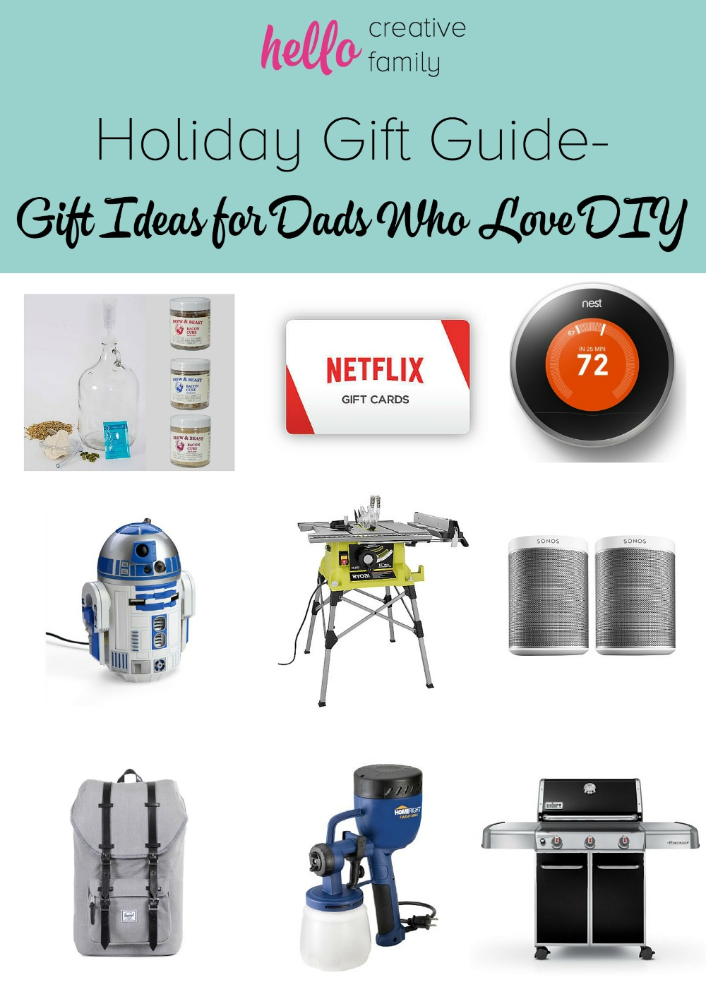 Hello Creative Family Holiday Gift Guide For Dads Who Love DIY