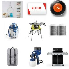 Holiday Gift Guide – Holiday Gift Ideas for Dads Who Love DIY with GIVEAWAYS