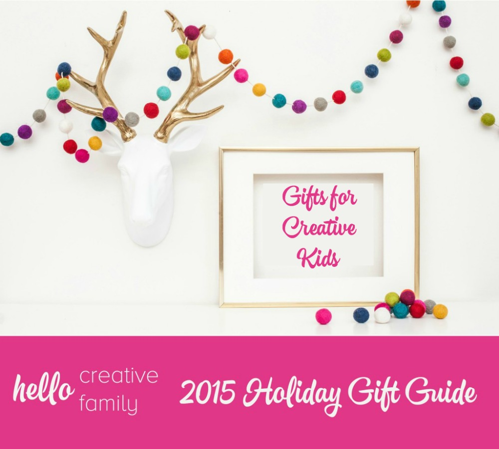 Hello Creative Family Holiday Gift Guide Gifts for Creative Kids