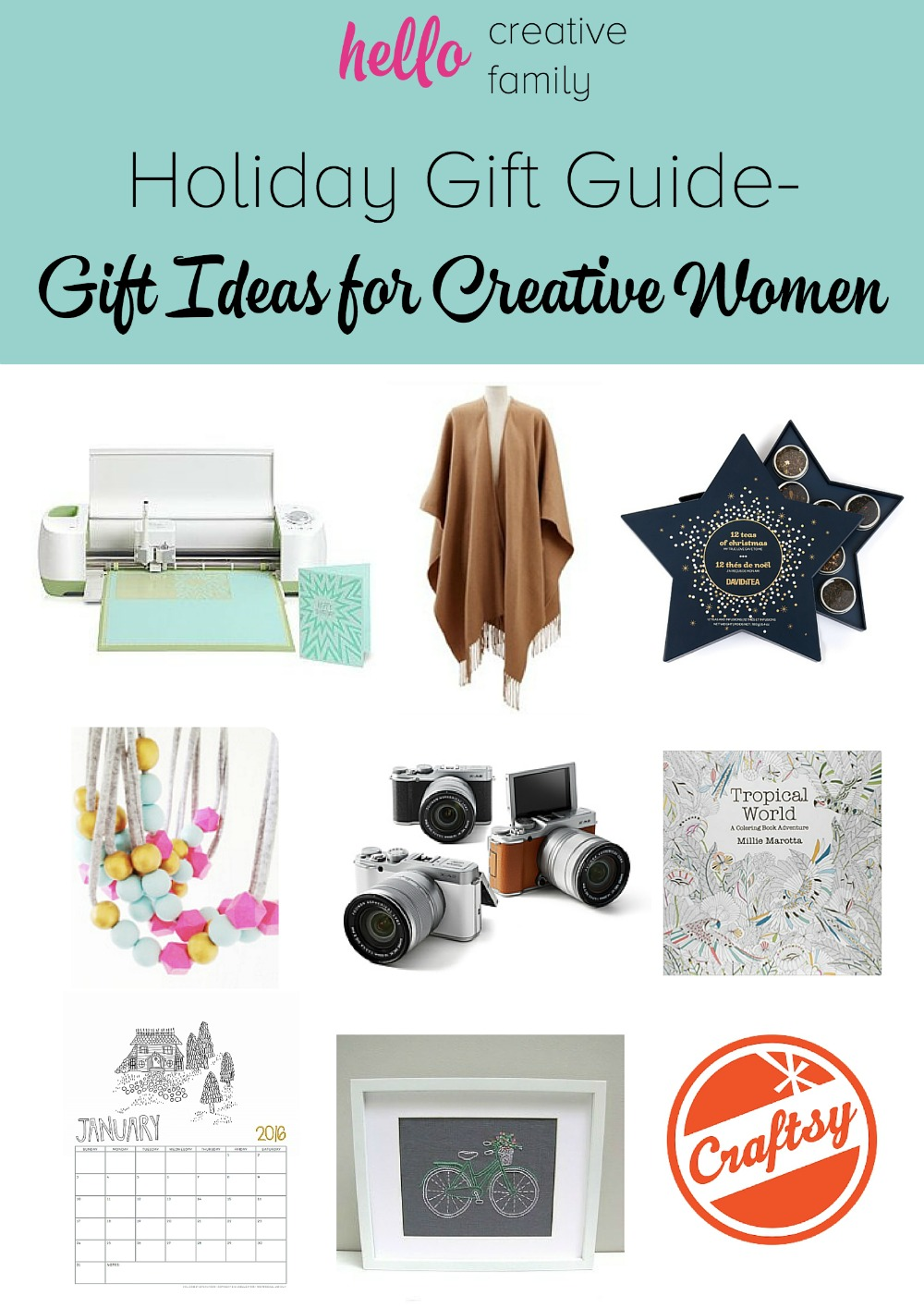 Looking for a gift ideas for the foodie in your life? Check out Hello Creative Family's Holiday Gift Guide for foodies for tons of great gift giving ideas.