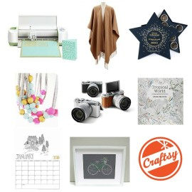 Looking for a gift ideas for the creative women in your life Check out Hello Creative Family's Holiday Gift Guide for creative women for tons of great gift giving ideas.