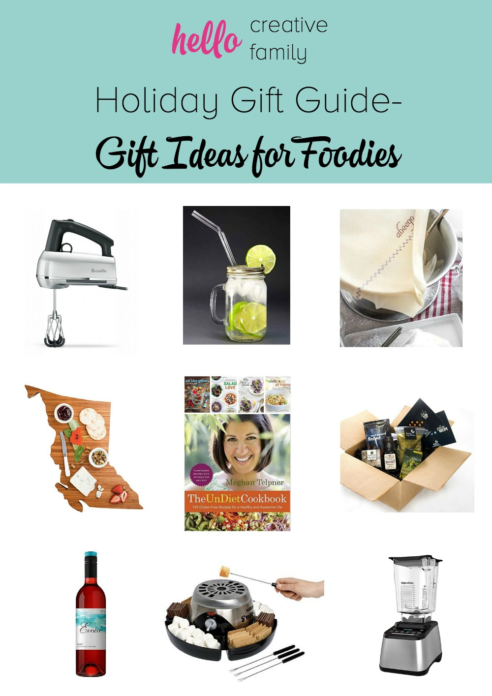 Holiday Gift Guide Holiday Gift Ideas For Foodies With Giveaways Hello Creative Family