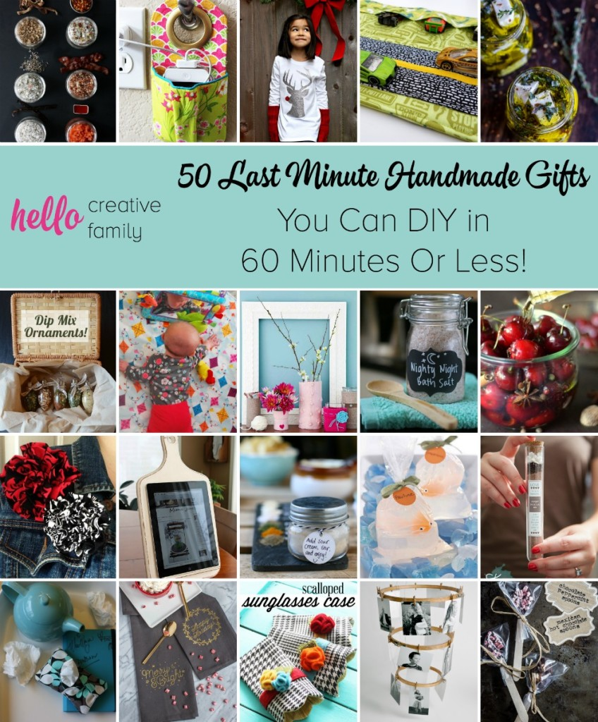 50+ Last Minute Handmade Gifts You Can DIY in 60 Minutes ...