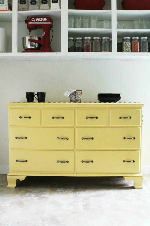 Yellow-Kitchen-Dresser