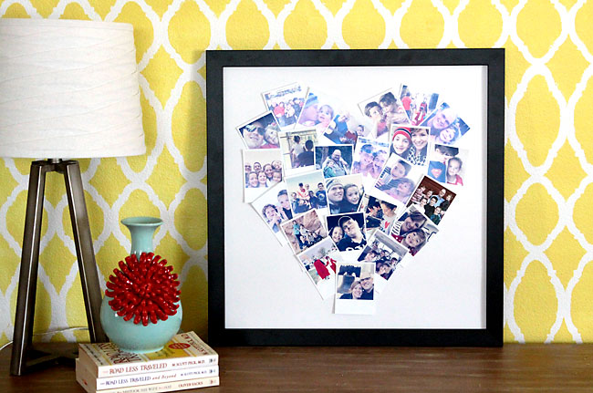 Heart Photo Display Instagram Collage How To Make