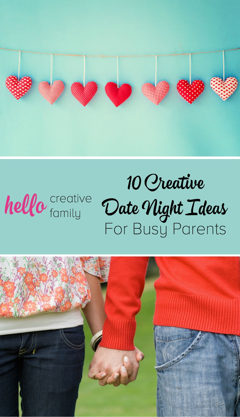 I need to take some of these ideas and get creative with dates with my husband! 10 Creative Date Night Ideas for Busy Parents
