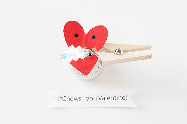 I Chews You Valentine from All For The Boys