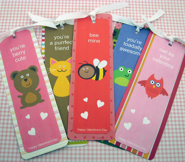 Valentine's Day Bookmarks from MG Party Impressions