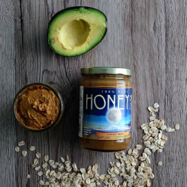 Cut the chemicals & revitalize your skin with this DIY Hydrating Face Mask Recipe. Filled with avocado, honey, oatmeal and other ingredients skin will love.
